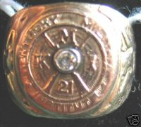 1921 KMI classring - it belonged to John Minor Ewing
